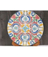 "Ceramar Spanish Pottery Plate Hand Painted Fish Colorful 10.5"" - $31.68"