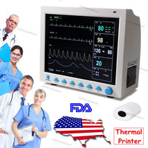 CMS8000 FDA&CE ICU CCU Vital Signs Patient Monitor,6 Parameters,Printer+... - $543.51