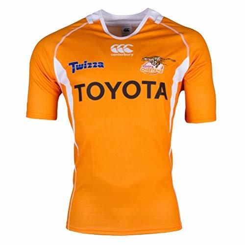 CCC Cheetahs 2017 Super Rugby Home Jersey - Mens [orange] - Medium