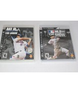 MLB The Show 07, 09 PlayStation 3 PS3 Baseball Bundle Collection 2 Games... - $14.80