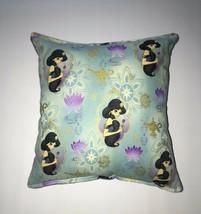 Jasmine Pillow Disney Aladdin Princess Jasmine Handmade in USA - $10.49