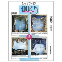 McCall's Patterns M3089 2 Hour Valance Classics, All Sizes - $14.21