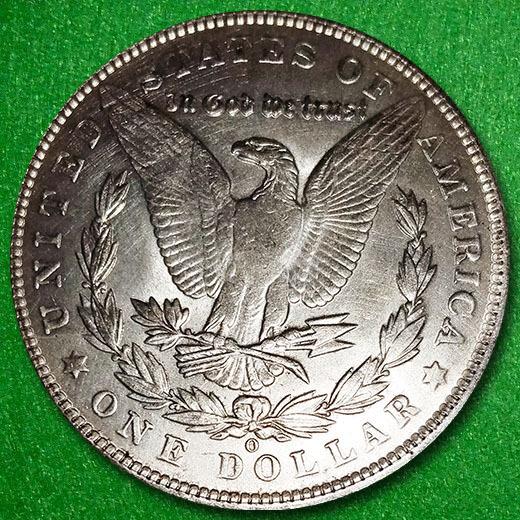 1894-O US Morgan Silver Dollar in Great Condition