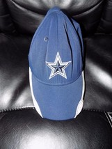 Reebok Onfield Dallas Cowboys Nfl Hat Youth Size Euc Htf - $17.60