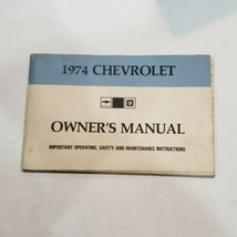 1974 Chevrolet Caprice / Impala Owners Manual / Original Guide Book! - $14.35