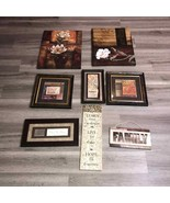 8 Home Decor Pictures / Phrases & More - $74.25