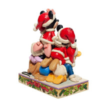 "6"" Stacked in a Holiday Pyramid -  Mickey & Pals Jim Shore Disney Traditions image 2"