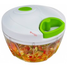 Manual Food Chopper Compact and Powerful Hand Held Vegetable Chopper/Min... - $23.28
