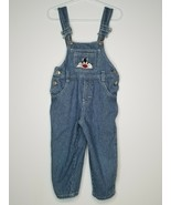 Vintage Looney Tunes Sylvester Cat Striped Jean Denim Overalls Bib 3T To... - $18.99