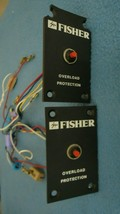 Fisher 3 Way Crossover Speakers / Overload protection and speaker connector - $23.29