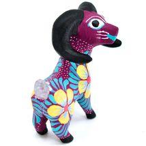 Handmade Alebrijes Oaxacan Copal Wood Painted Folk Art Big Horn Sheep Figurine image 5