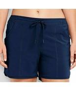Lands End Deep Sea Blue Swim Board Shorts WOMEN'S, SIZE 24W - $23.74