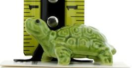 Hagen Renaker Miniature Turtle Coin Ceramic Figurine image 2