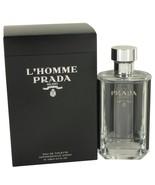 L'homme Prada By Prada Eau De Toilette Spray 3.4 Oz 535823 - $120.97
