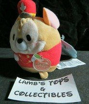 """Disney Store Authentic Timothy mouse 4.5"""" of Dumbo Ufufy plush apple sce... - $22.22"""