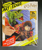 Harry Potter Crayola Art with Edge ~ Coloring Pages ~ 20th Anniversary F... - $17.81