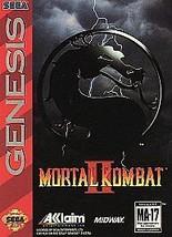 Mortal Kombat II (Sega Genesis, 1994) CART ONLY - $9.92