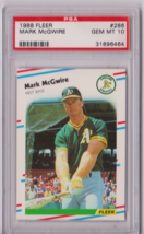 1988 Fleer Mark McGwire #286 PSA 10 P650 - $15.45