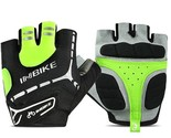 INBIKE Men Women Bike Gloves Bicycle Cycling Gloves Half Finger Gel Padded MTB M