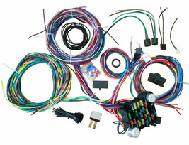 21 Circuit Street Hot Rat Rod Custom Universal Color Wiring Wire Kit XL WIRES