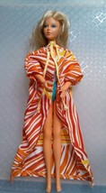 1975 IDEAL TUESDAY TAYLOR DOLL WITH ORIGINAL SWIM SUIT CAFTAN - $19.68