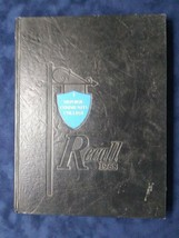"Vintage Yearbook Monroe Community College ""Recall"" 1968 - $29.65"