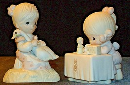 1980/1989 Precious Figurines Moments  AA-191841  Vintage Collectible image 1