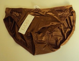Elomi Kristie Floral Embroidered Panty Style EL 5818 Cocoa - $12.95