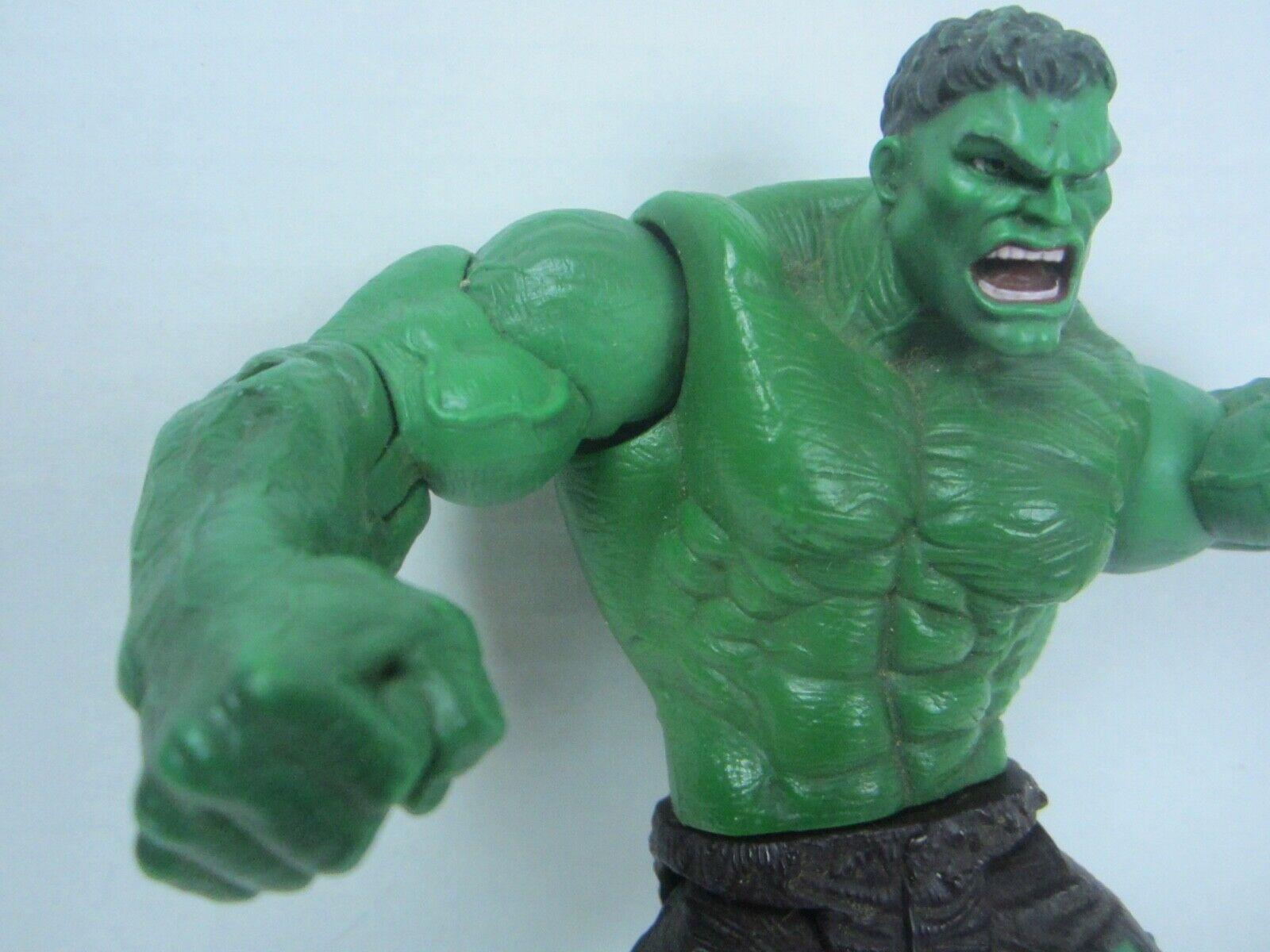 "2003 Hulk the Movie Action Figure Universal Marvel Throwing Smash Arms 8"" image 4"