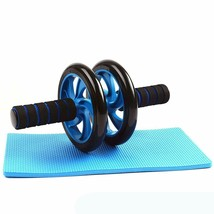 Ab Roller Wheel Abdominal Fitness Gym Exercise Equipment Core Workout Tr... - £16.76 GBP