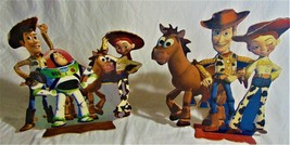 Toy Story 2 Wood Stand Up Plaques Room Decor - $19.00