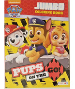"""Paw Patrol """"Pups on the Go!"""" Jumbo Coloring And Activity Book 96 Pages w - $5.29"""