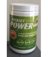 Patriot Power Greens Large 11.43oz Canister~ Sealed ~Fights Fatigue~Ener... - $69.59