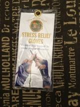 1 LION BRAND YARN STRESS RELIEF GLOVES in sizes... - $7.64