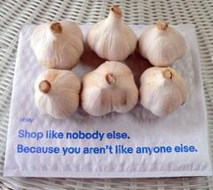 Music Porcelain Hardneck Garlic Bulbs (Organically Grown) 6 Bulbs Approx... - $17.49