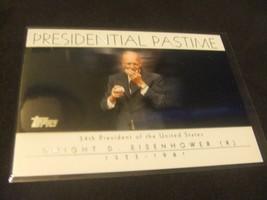 2004 Topps Presidential Pastime #PP34 Dwight Eisenhower 34th US President - $3.12