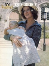 Knits & Crochets in Elite 8 Pattern Designs/Instructions 7606 - $3.57