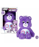 "New Care Bears 14"" Plush Purple Share Bear & Coin Soft Huggable Material... - $27.67"