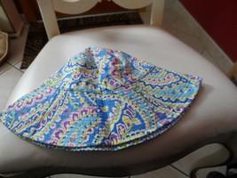 Vera Bradley sun hat in retired Capri Blue pattern  - $22.00