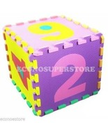 10pcs Infant Kid's Learning Number Puzzle Safety Foam 123 Mat Floor Play... - $16.99