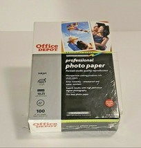 Brilliant Gloss Platinum Series Professional 4 x 6 Photo Paper 100 Ct Sealed Box - $21.95