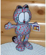 "Garfield Cat Plush 14"" Candy Cane Peppermint Candy Holiday Ready for Swe... - $7.89"