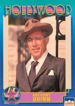 Anthony Quinn trading Card (Actor) 1991 Starline Hollywood Walk of Fame #58 - $3.00