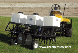 """69"""" Aerator Coring Turf Trailer for Golf Course, Sports Complex  - $4,999.00"""