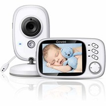 Govee 3.2 Inch Video Baby Monitor 2.4GHz Wireless Long Range with Digita... - $120.95