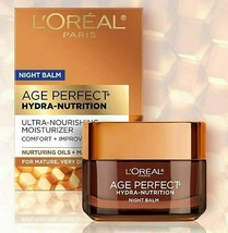 l'oreal Age Perfect Hydra Nutrition Ultra Nourishing Honey Night Balm Face Moist - $14.95