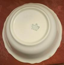 "Vintage RARE 1935 Homer Laughlin ""VIRGINIA ROSE"" 8 1/2"" Bowl Made in USA K 43 N8 image 2"
