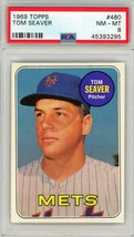 1969 Topps Tom Seaver #480 PSA 8 P892 - $699.16