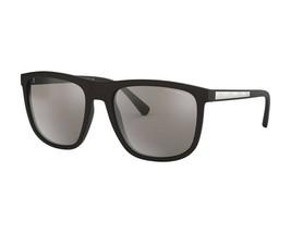 Emporio Armani Sunglasses EA4124F 50426G MATTE BLACK / LIGHT GREY MIRROR... - $66.93
