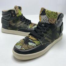 Men's Camoflauge Fashion Sneakers w/ Rhinestones    - $299.00